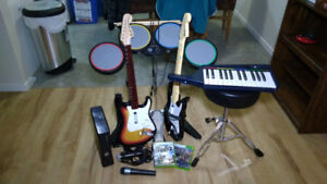 Rock Band Set for Xbox 360