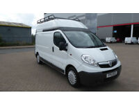 2013 Vauxhall Vivaro 2.0CDTi 115ps 2900 White Diesel LWB High Roof Van