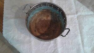 Vintage Silver type metal handcrafted decorative  bowl Kingston Kingston Area image 4