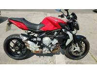 2015 65 MV AGUSTA BRUTALE 675 RED 295 MILES YES 295 1 OWNER HPI CLEAR ABS