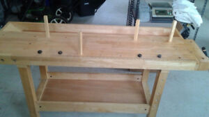 Wood working table
