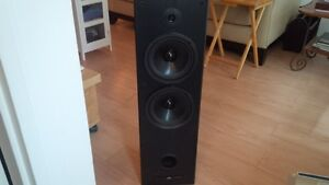 JVC Theater series Spakers/2 towers and Tuner TEAC