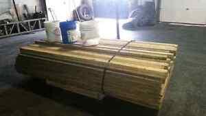 Trailer wood decking