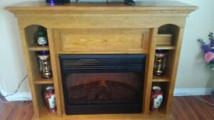 Electric Fireplace/ Mantle Combo