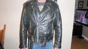 Interstate Motorcycle Leather Jacket