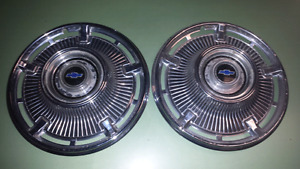 1965 Chevrolet Impala 14 inch wheel covers hubcaps