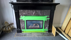 Gas Fireplace and Mantels - Make me an offer