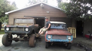 1960's International Scout Projects - TRY YOUR TRADES