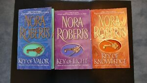 4 Nora Roberts Trilogies. Asking $10each set or $30 for all