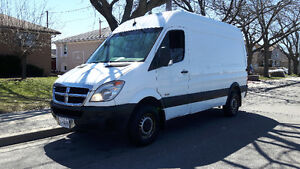 2007 Dodge Sprinter 2500 Diesel Wagon, High roof, $5000