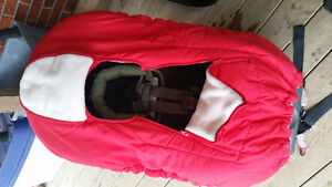 Winter Car Seat Carrier Cover