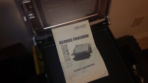 George Forman Grill  GRP100series