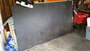 Metal chalk boards (from a school reno) Peterborough Peterborough Area image 1