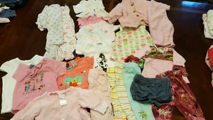 21 lot of girl 6 months clothes - $15!!!!