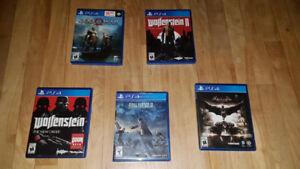 Jeux de PS4 usagés