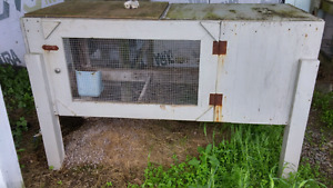 3 Rabbit Cages/hutches, $100 each