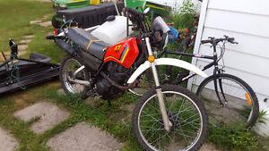 1983 xt200 enduro with ownership