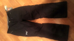 Mens ski pants under armour new w tags