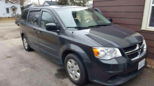 2011 Dodge Grand Caravan grey Minivan, Van