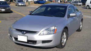2004 Honda Accord EXL_2Door_Reliable_Records_100,000km_MUST SEE!