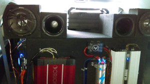 Car audio and lighting systems