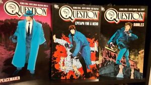 THE QUESTION -- Complete Graphic Novels Collection –- TPB Comics