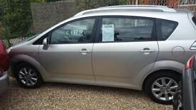 2004 Toyota Verso 1.8 ( 127bhp ) MMT T Spirit E AUTOMATIC LOW MILES ONLY 70K