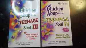 Chicken soup for the teenage soul books.