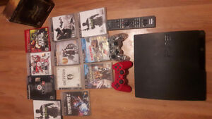 For sale PS3 sale 500 Gig  12 games $200