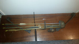 Clearwater compound bow and accessories