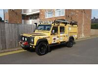 Land Rover Defender 130 2.5 300 TDI Crewcab EXPEDITION CAMEL TROPHY SPEC 1997 R