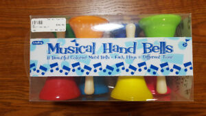 2 sets of Children's Musical Hand Bells -- (Price Reduced)