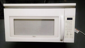 Whirlpool Microwave and Hood Range Vent Combination