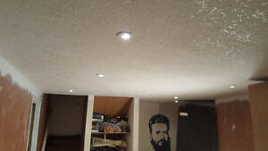 drywall mud and taping ceiling repairs Kitchener / Waterloo Kitchener Area image 9