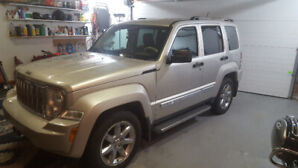 "2008 JEEEP LIBERTY ""LIMITED"" Excellent Condition"