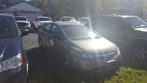 2007 Honda Civic 5 Speed Manual Transmission
