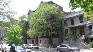 2-3 Bedrooms, 1 Minute from Guy Metro, 2 Minutes from Concordia