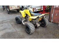 2004 Suzuki LTZ400 road legal quad yellow