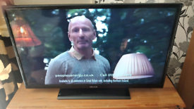 """32"""" LED Slimline with Built-in Freeview and HDMI"""