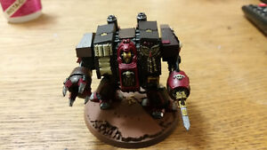 Warhammer 40k imperial guard  has librarian dreadnought 2 trade
