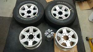 "new 2010-2013 17""x8"" Dodge Ram Laramie Polished 6 spoke wheels"