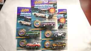 JOHNNY LIGHTNING DRAGSTERS U.S.A. SERIES 5 SET OF 5 CARS DIECAST
