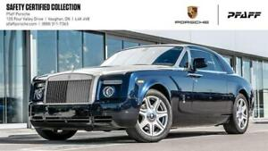 2010 Rolls-Royce Phantom Coupe - LOW KMS, CLEAN CARFAX!