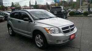 2007 Dodge Caliber SXT 204,000km Certified!