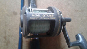 Trolling Reel and Rods