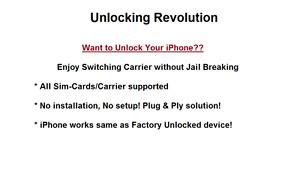 Unlock your iphones
