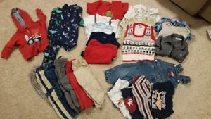 12-18 month BOYS clothing lot