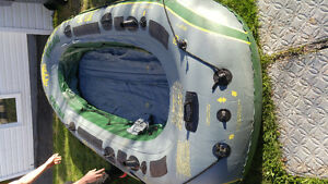 Rubber 4 person watercraft