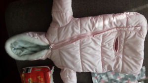 winter jacket for car seat - 0-3 months