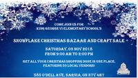 Snowflake Christmas Bazaar and Craft Sale